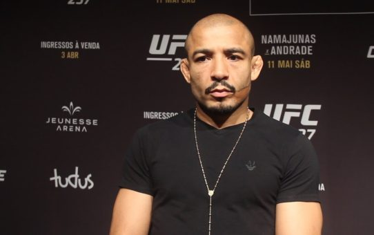 Jose Aldo 'Still Can't Say' If He's Going To Fight At UFC 237 Because Of Knee Infection