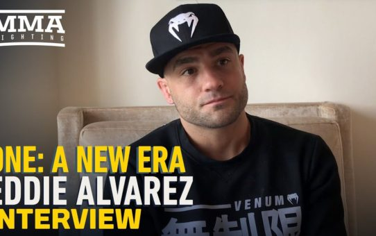 Eddie Alvarez Opens Up on ONE Debut, Not Cutting Weight, UFC's Tactics, Conor McGregor, More