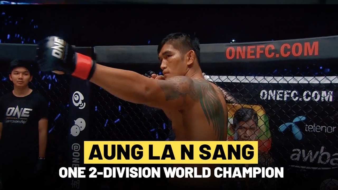 ONE Highlights | Aung La N Sang Is A Finisher
