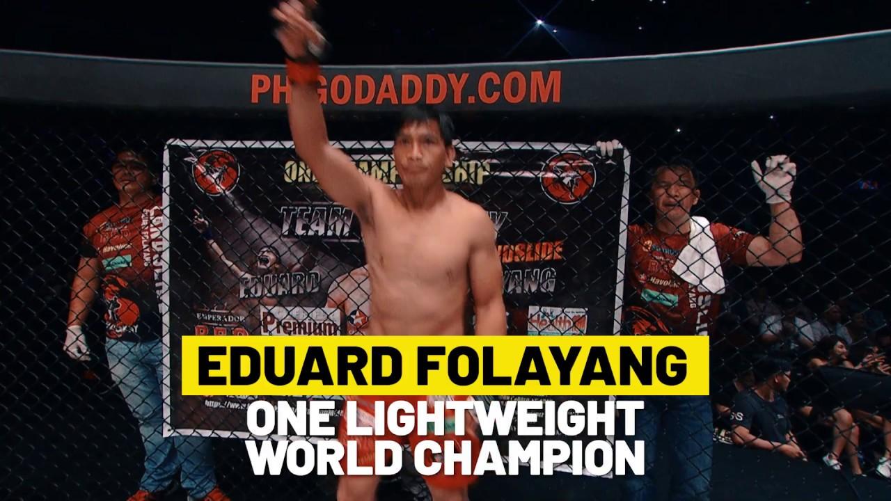 ONE Highlights | Eduard Folayang's Sensational Striking