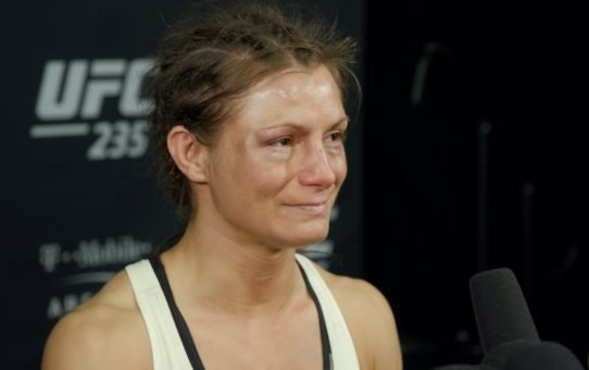 UFC 235: Hannah Cifers Declined Hospital Transport Despite Possible Broken Arm – MMA Fighting