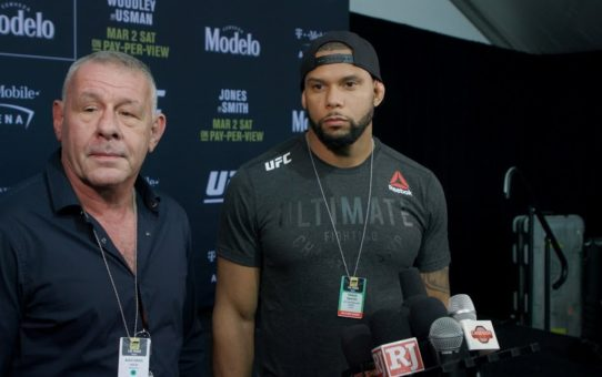 Thiago Santos Says Next Step Will Be to 'Shock the World' Against Jon Jones, Win UFC Title