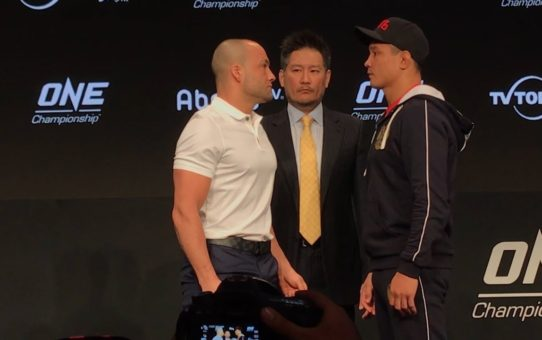 Eddie Alvarez vs. Timofey Nastyukhin ONE Championship: A New Era Staredown – MMA Fighting