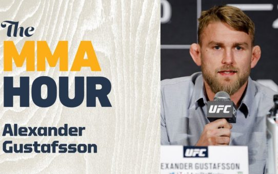 Alexander Gustafsson On Anthony Smith: 'If He Beats Me, Then Maybe I Don't Have It Anymore'