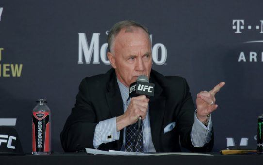 UFC 235: Bob Bennett Post-Fight Press Conference – MMA Fighting