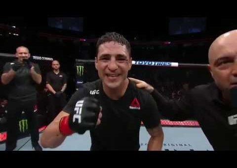 UFC 235: Diego Sanchez Octagon Interview