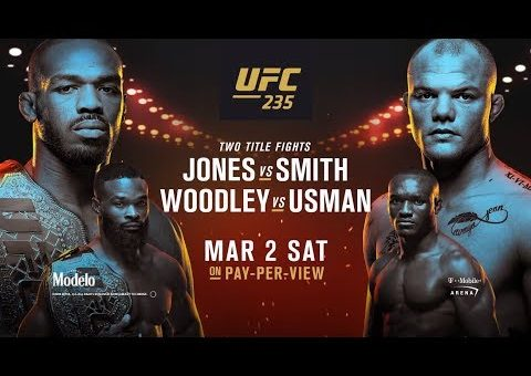 UFC 235: Jones vs Smith