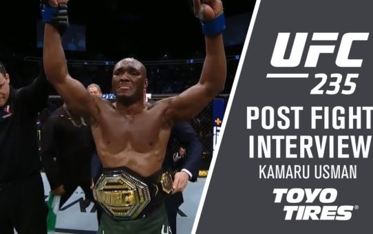 "UFC 235: Kamaru Usman – ""We Did It Baby"""