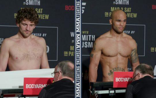 UFC 235 Weigh-Ins: Ben Askren, Robbie Lawler Make Weight – MMA Fighting