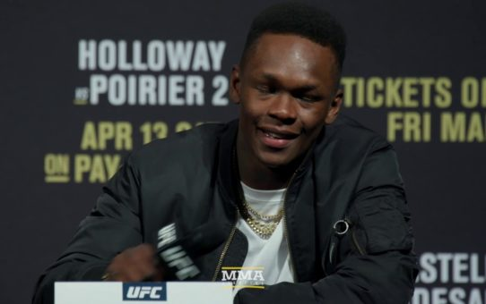UFC 236 Press Conference Video – MMA Fighting