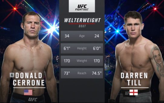 UFC London Free Fight: Darren Till vs Donald Cerrone