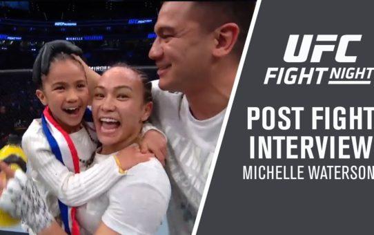 "UFC Philadelphia: Michelle Waterson – ""I Just Focused On Fighting"""