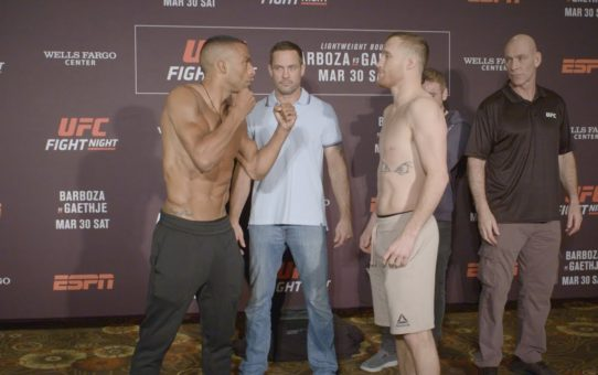 UFC Philadelphia: Weigh-in Faceoffs