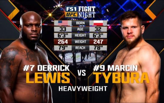 UFC Wichita Free Fight: Derrick Lewis vs Marcin Tybura