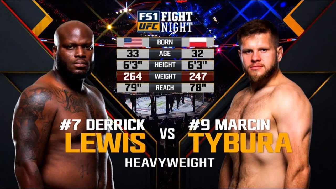 UFC Wichita Free Fight: Derrick Lewis vs Marcin Tybura