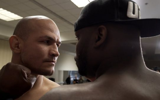 UFC Wichita: Weigh-in Faceoffs
