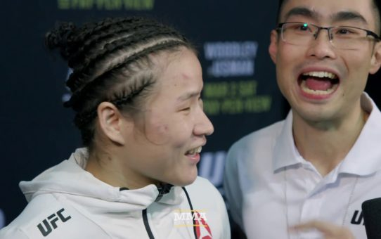 UFC 235: Weili Zhang Wants To Be The 'General' Of The Strawweight Division – MMA Fighting