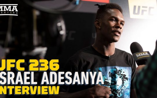 UFC 236: Israel Adesanya Says Kelvin Gastelum Can Take A Lot of Punishment, 'I'm Willing to Deliver'