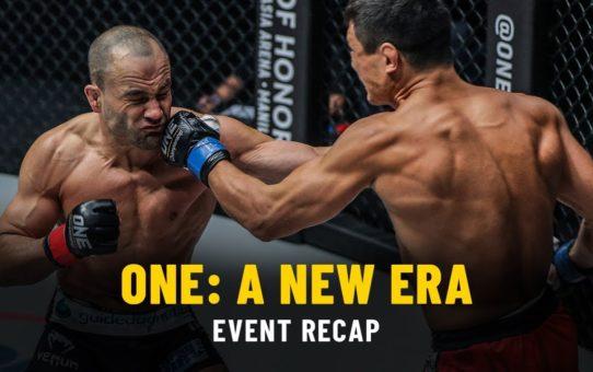 Event Recap | ONE: A NEW ERA | 31 March 2019