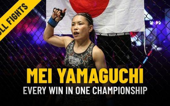 Every Mei Yamaguchi Win | ONE: Full Fights