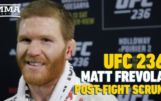 UFC 236: Matt Frevola Predicts Jon Snow Will Be Sitting On Iron Throne At End Of GOT