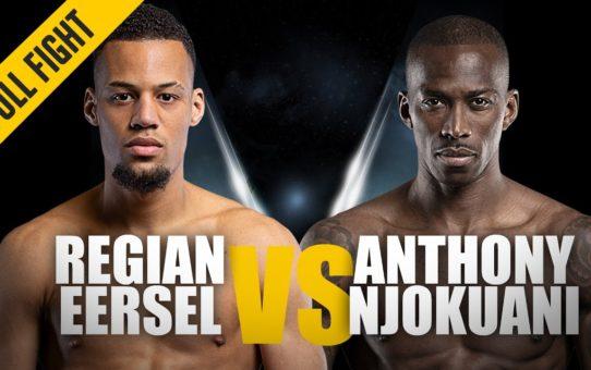 ONE: Full Fight | Regian Eersel vs. Anthony Njokuani | Kickboxing Knockout | February 2019