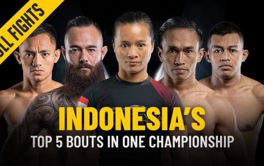 Indonesian Athletes' Top 5 Bouts | ONE: Full Fights