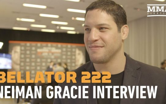 Neiman Gracie No Longer Interested Dillon Danis: 'He Has One Fight, I'm Fighting For A World Title'