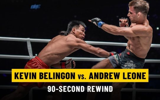 Kevin Belingon vs. Andrew Leone | ONE: 90-Second Rewind