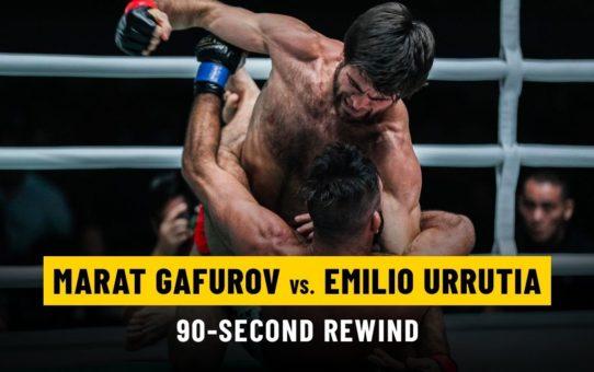 Marat Gafurov vs. Emilio Urrutia | ONE: 90-Second Rewind