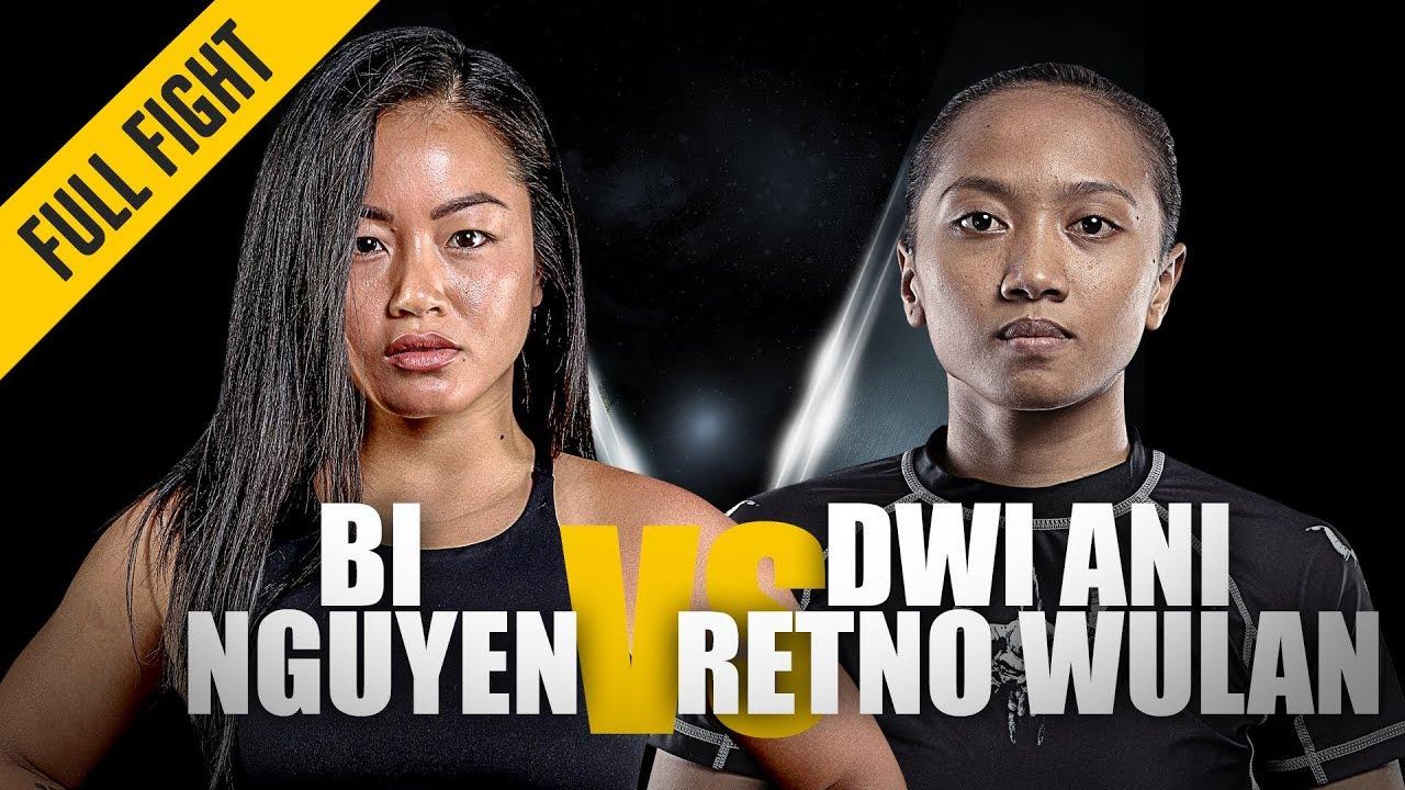 Bi Nguyen vs. Dwi Ani Retno Wulan | ONE: Full Fight | Dominant Debut | April 2019