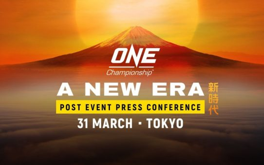 ONE Championship: A NEW ERA Post-Event Press Conference