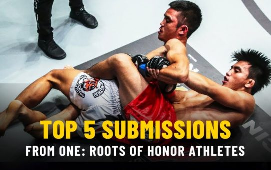ONE Highlights | Top 5 Subs From ONE: ROOTS OF HONOR Athletes
