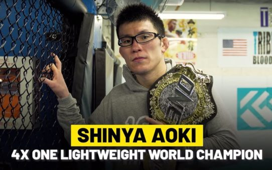 Shinya Aoki's Martial Arts Destiny | ONE Feature