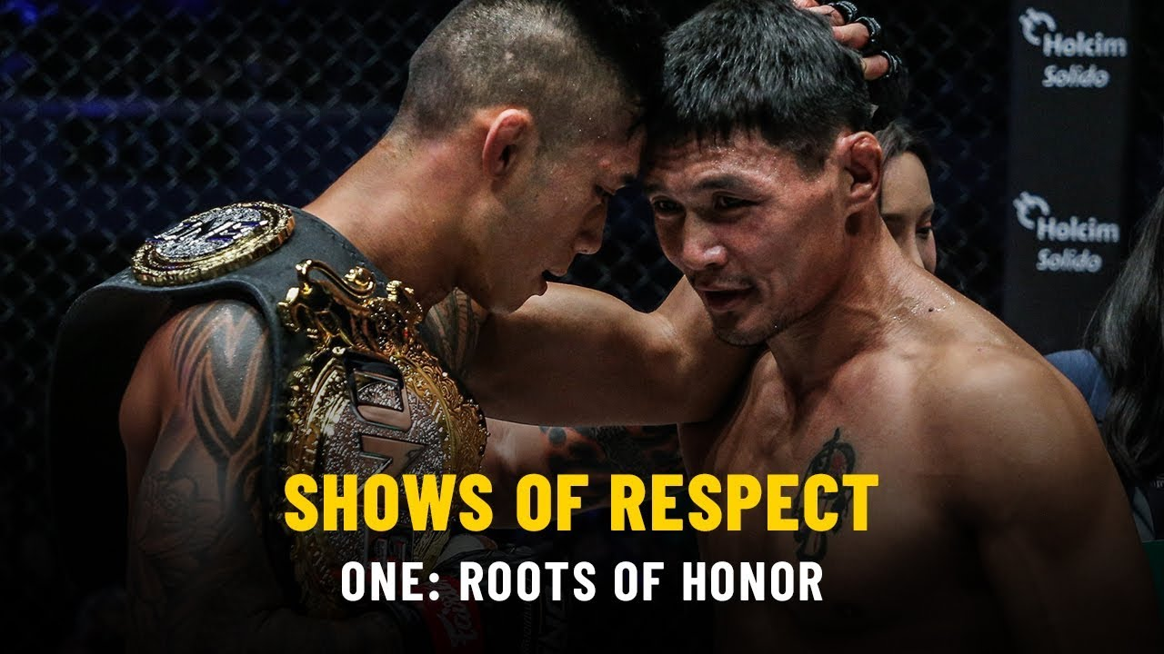 Shows Of Respect | ONE: ROOTS OF HONOR
