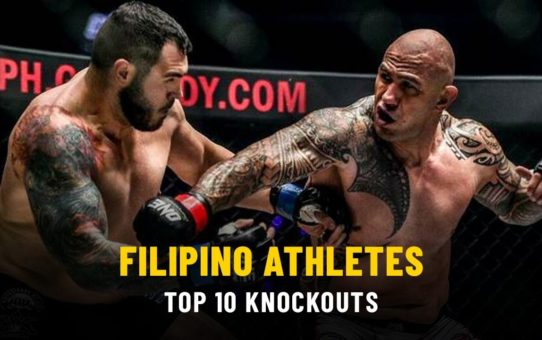 Top 10 Knockouts From Filipino Athletes | ONE Highlights