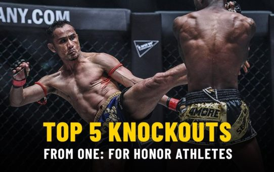 Top 5 Knockouts From ONE: FOR HONOR Athletes | ONE Highlights