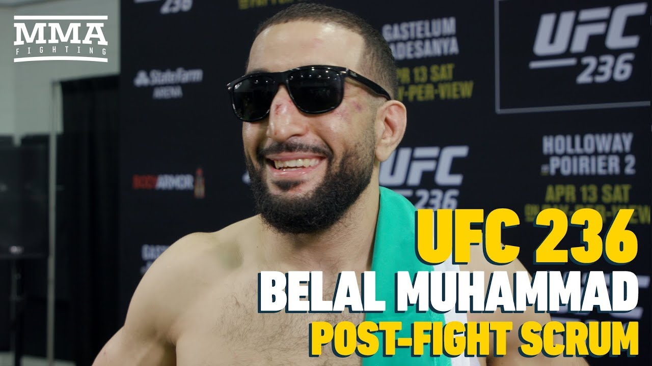 UFC 236: Belal Muhammad Says Niko Price Is Next Man On His 'Hit List'