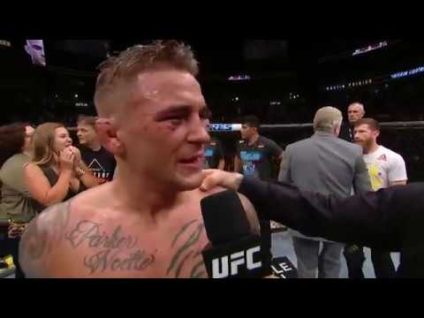 UFC 236: Dustin Poirier and Max Holloway Octagon Interview