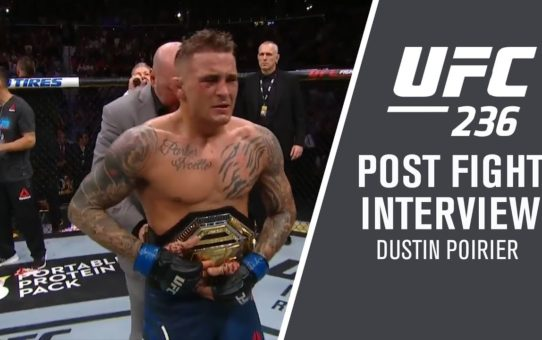 "UFC 236: Dustin Poirier – ""That Octagon is a Theater of the Unknown"""