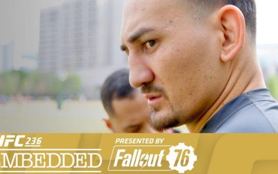 UFC 236 Embedded: Vlog Series – Episode 1