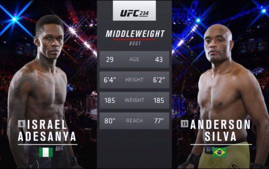 UFC 236 Free Fight: Israel Adesanya vs Anderson Silva
