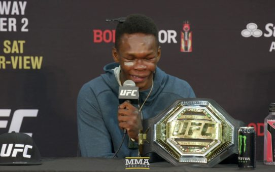 UFC 236: Israel Adesanya Post-Fight Press Conference – MMA Fighting