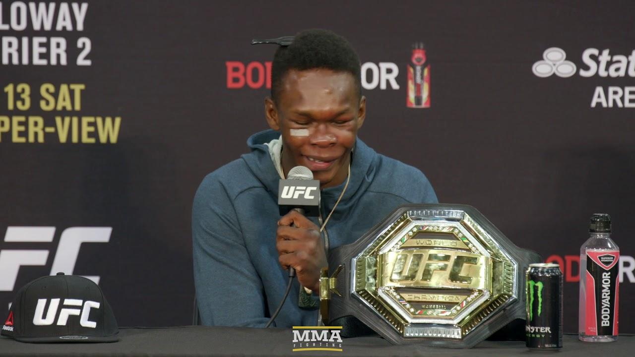 UFC 236: Israel Adesanya Post-Fight Press Conference - MMA Fighting