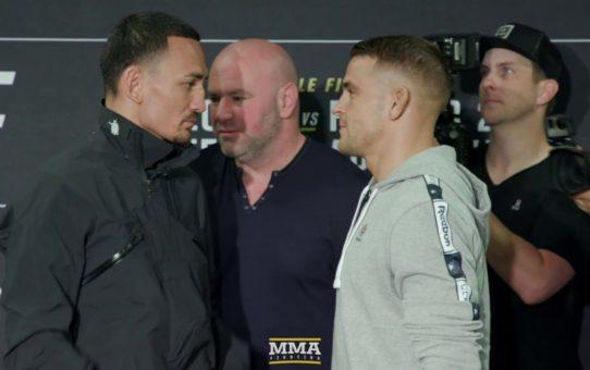 UFC 236 Media Day Staredowns – MMA Fighting