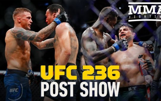 UFC 236 Post-Fight Show – MMA Fighting