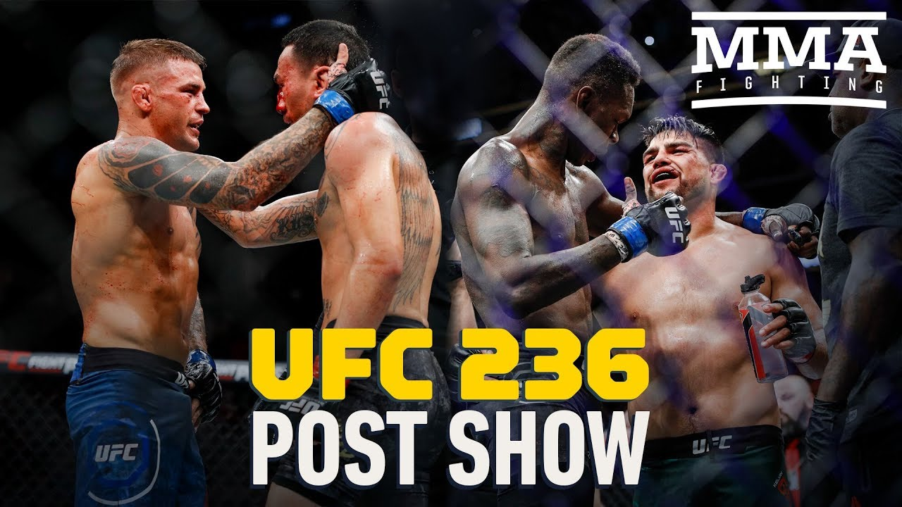 UFC 236 Post-Fight Show - MMA Fighting