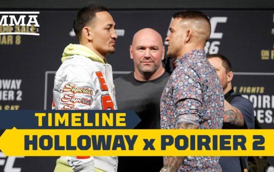 UFC 236 Timeline: Max Holloway vs. Dustin Poirier 2 – MMA Fighting