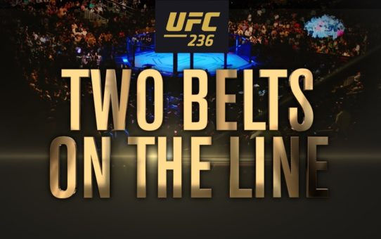 UFC 236: Two Belts on the Line