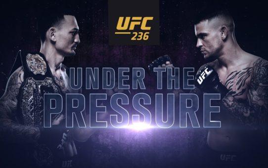 UFC 236: Under the Pressure